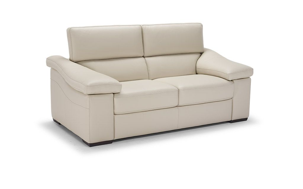 Natuzzi Ignazio Loveseat Recliner With Electrical Motion Boga Style