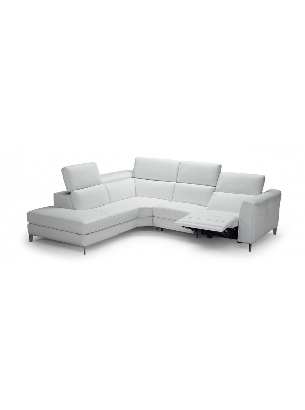 OLRAC Sectional facing left leather sofa