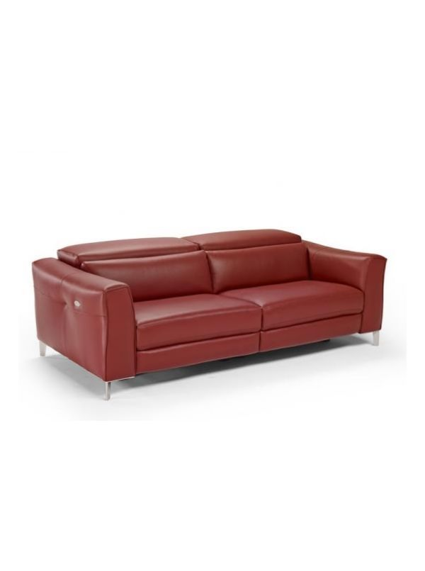 Natuzzi Olrac leather loveseat