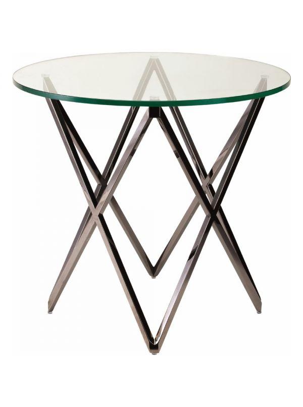 LATTICE side table by NUEVO