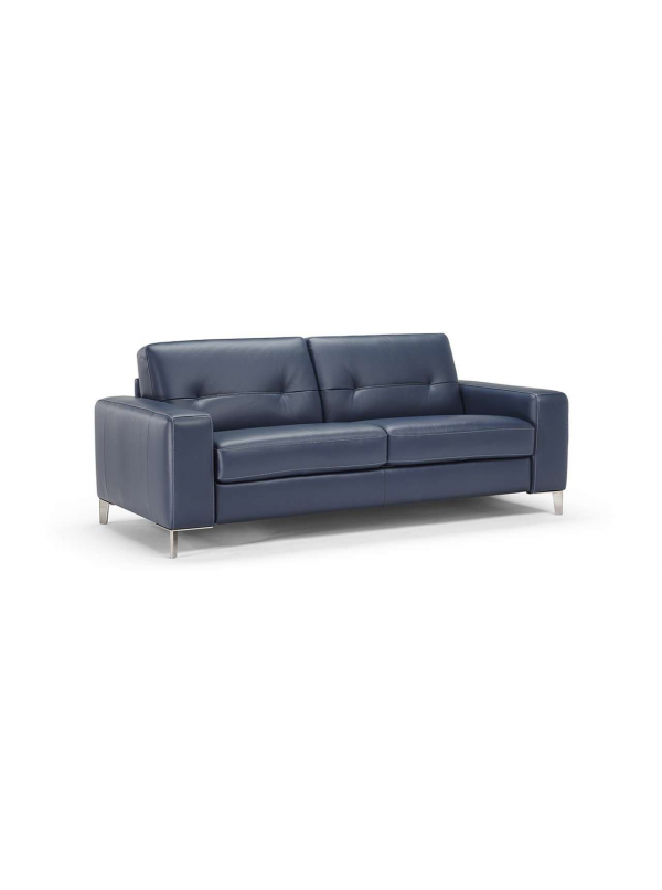Oirelav leather loveseat by Natuzzi
