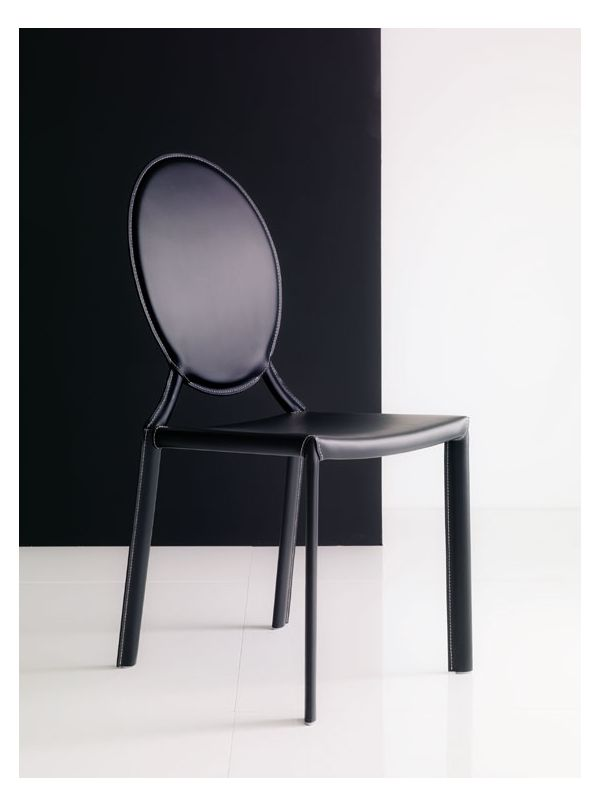 Tahira dining chair by Bontempi
