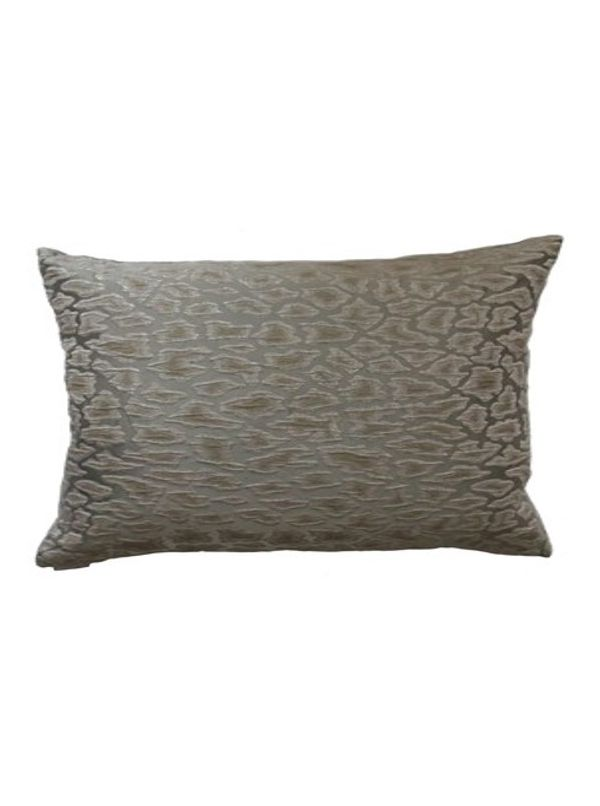 Cabenet Square Gray Pillow by Canaan Company