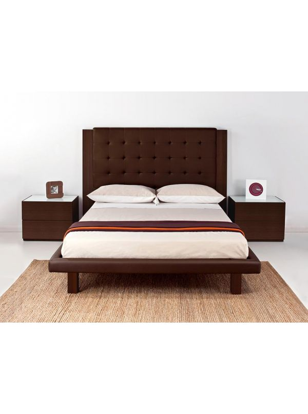 Romance queen Size Bed by Calligaris