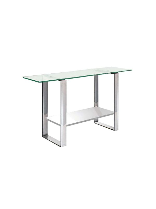 Clarity console table by Casabianca