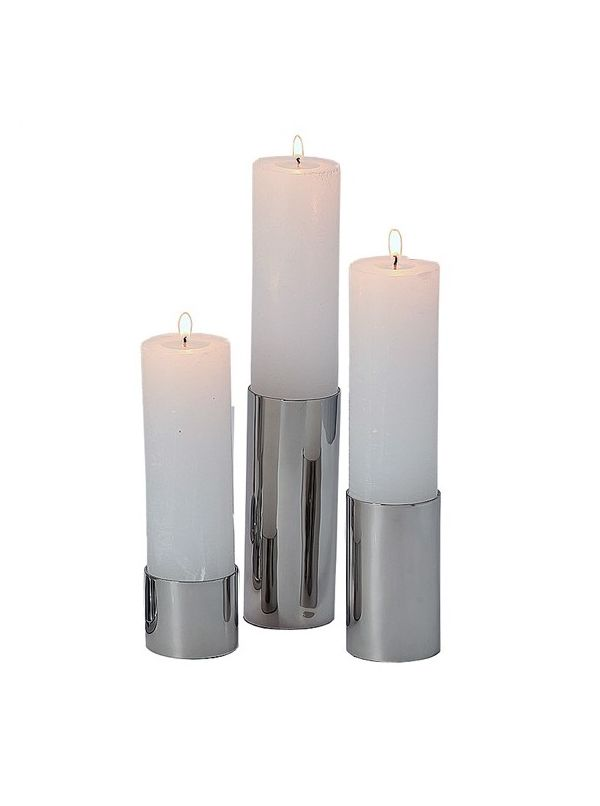 Gallery candle holders, set of 3,  by Riado