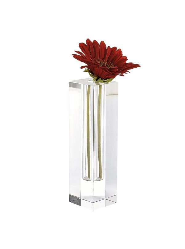 Donovan Cut Glass Bud Vase
