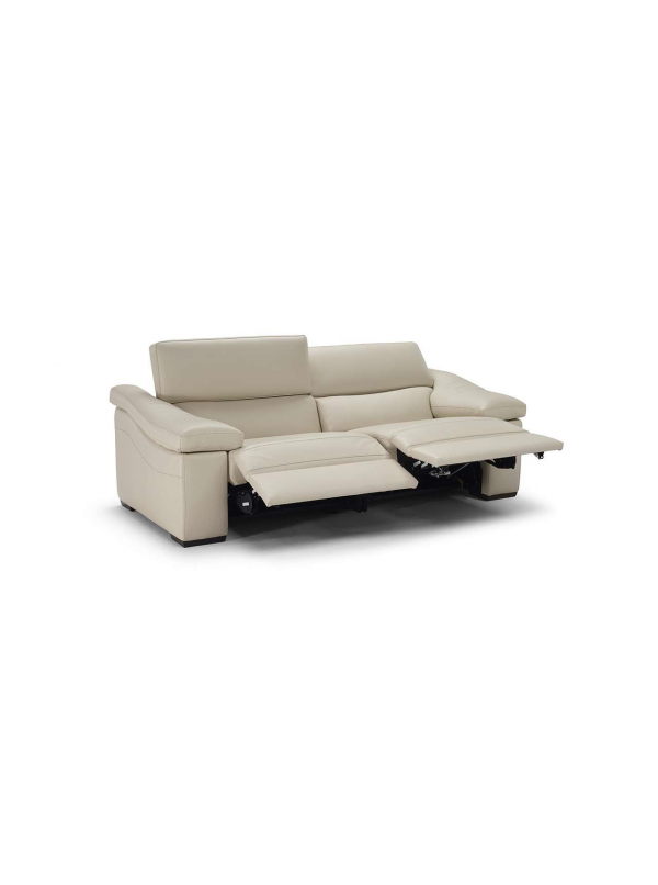 Oizangi Leather Loveseat by Natuzzi