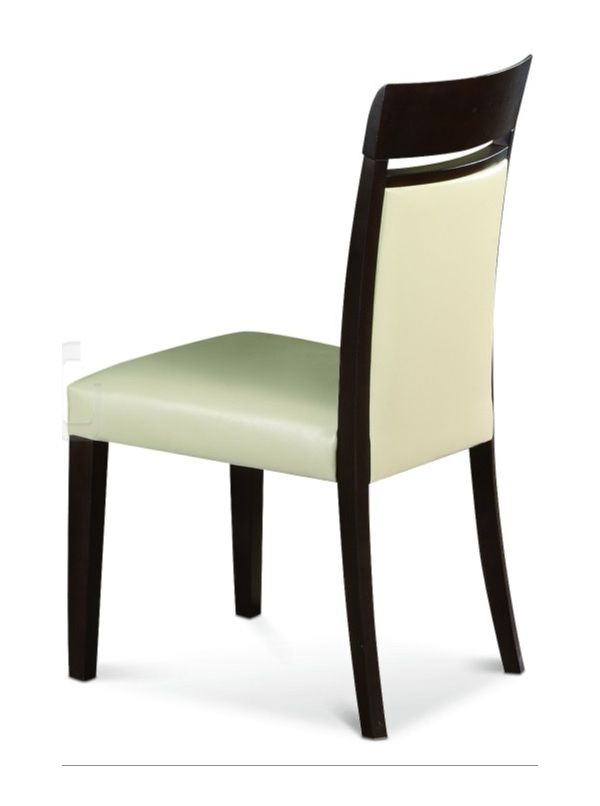 Siena leather dining room chair by ALF