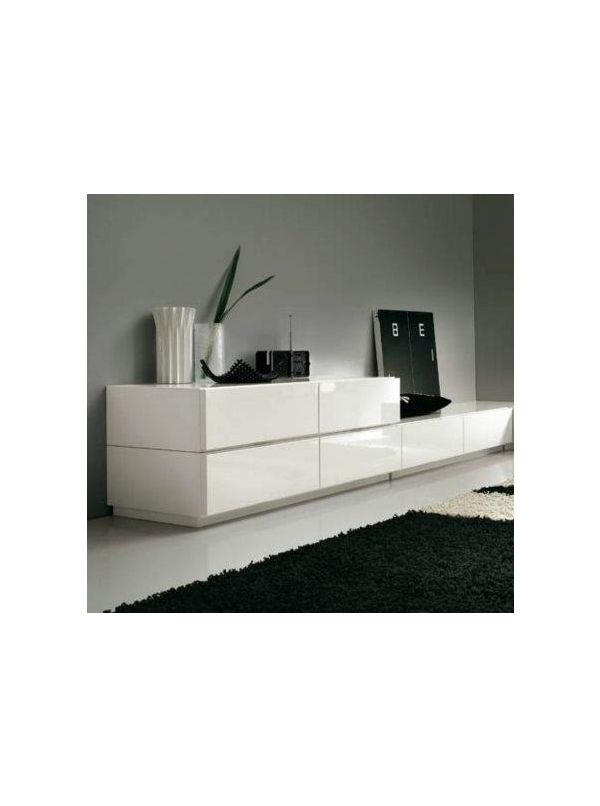 Linea white dresser by ALF