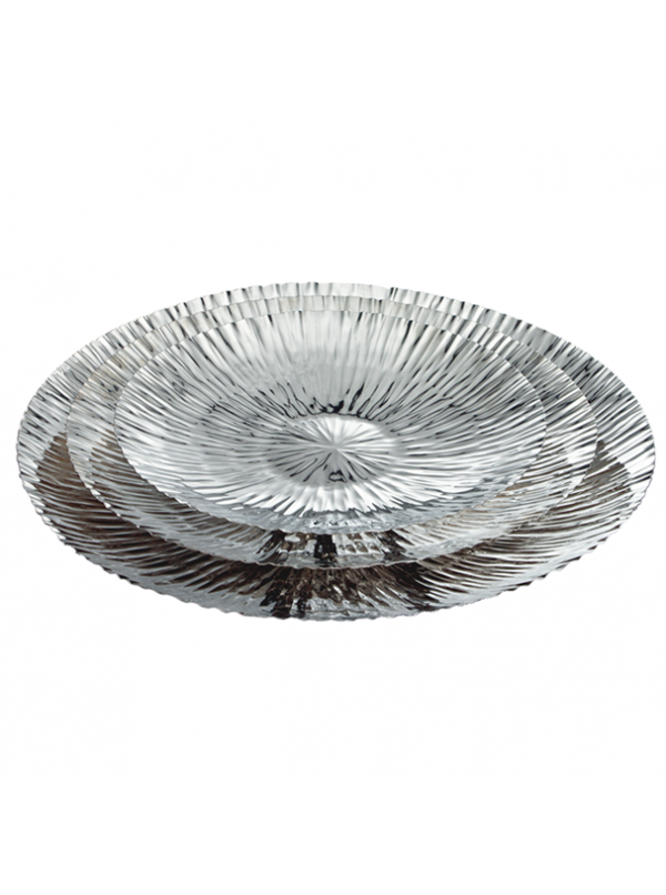 Jubilee round platter, small, by Riado