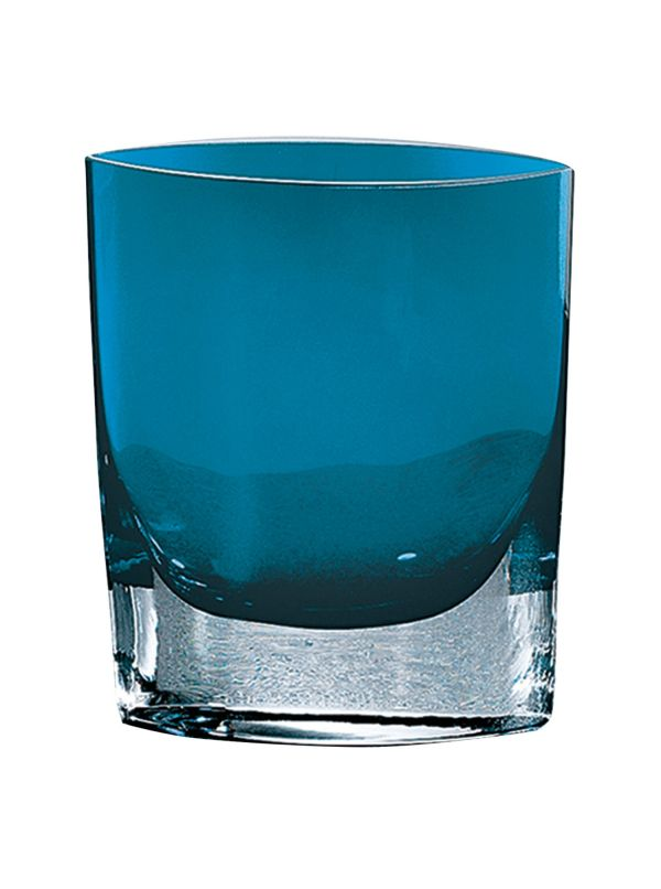 "Samantha Peacock Blue 8"" Vase"