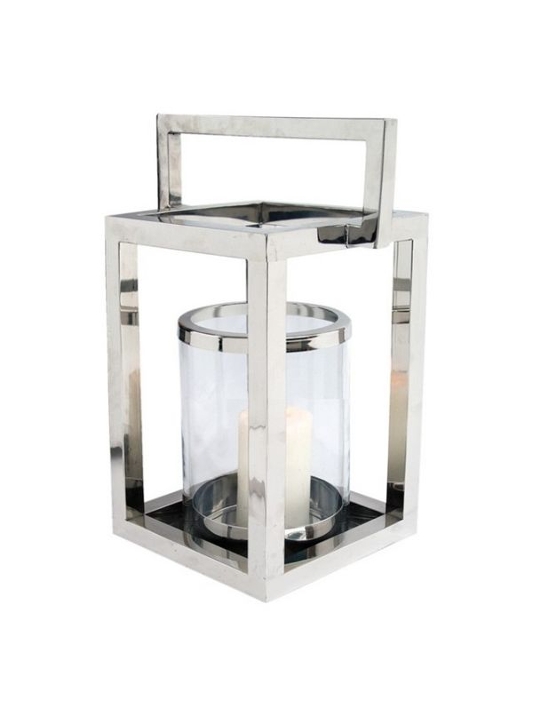 Pipe Hurricane Lantern by Riado