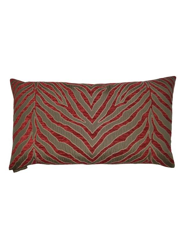 Pumbaa Lumbar Red Pillow by Canaan Company