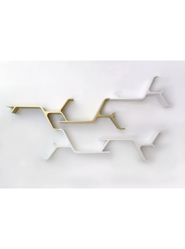 Sinapsi configurable Wall Shelf by Horm